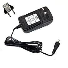 HQRP AC Adapter for JBL Flip 4 ; Charge 2+, 3 ; Clip 2 ; Pulse 3 ; Xtreme, GO, T450BT, E45BT, E55BT ; Everest 300, 700, Elite 750NC, micro USB Power Supply Cord [UL Listed] + Euro Plug Adapter
