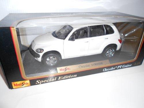 (Maisto Special Edition 1:18 Scale Chrysler PT Cruiser ~ Color: White)