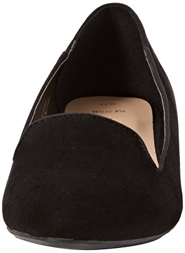 New LookWide Foot Jetal - Zapatillas de ballet mujer Negro (Black)