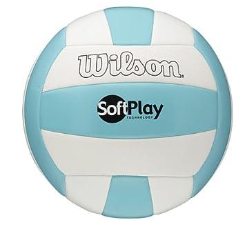 Wilson Soft Play - Pelota de Volley Playa para Hombre, tamaño 5 ...