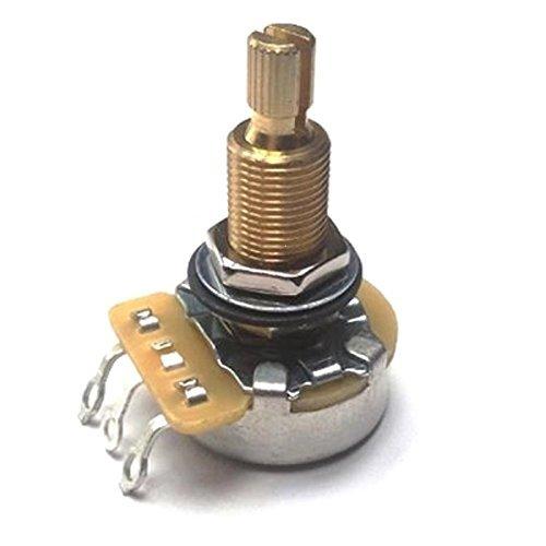 (CTS 500K TAOT CUSTOM LONG Split Shaft Audio Taper Pot - 1X )