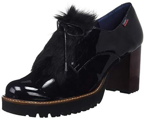 1 Callaghan Derby Cordones Soulfree Negro Mujer De Para Zapatos black qwzUWqrO