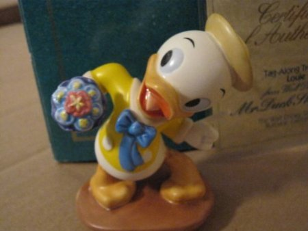Figure Disney WDCC Donald Duck Louie 'Mr. Duck Steps Out (Louis)' Disney B004UPFXP8