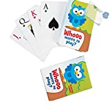 Bargain World Paper Owl Playing Cards (With Sticky Notes)