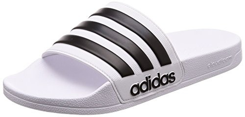 blanco White piscina Black zapatos playa para Core Shower y White hombre Ftwr Adilette de Adidas Ftwr RwzSgqR