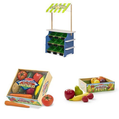 Melissa & Doug Grocery Store / Lemonade Stand Bundle by