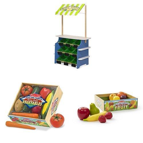 Melissa & Doug Grocery Store / Lemonade Stand Bundle