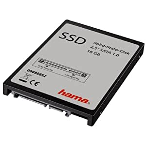 """Hama - High-Speed Solid-State Disk Flash Memory Hard Drive, 16GB, 2.5"""", SATA, 0 - 70 °C, -55 - 95 °C, 115 g, 9 mm, 69 mm, 100 mm"""