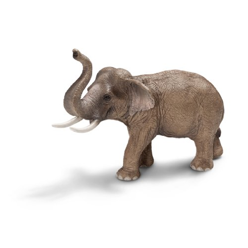 Asian Elephant Animals - Schleich Asian Male Elephant Toy Figure