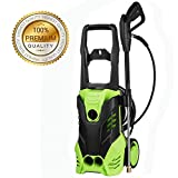 ncient NIS4500 High Pressure Power Washer 3000 PSI Electric Pressure Washer,1800W Rolling Wheels High Pressure Professional Washer Cleaner Machine+ (5) Nozzle Adapter (3000 PSI-NIS4500)