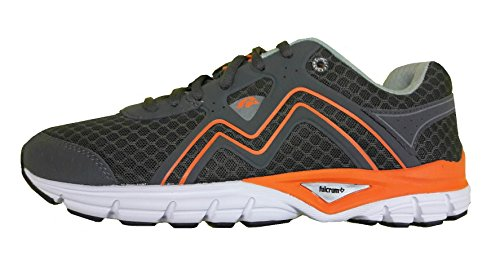 Karhu Men's Smart Fulcrum (Charcoal/Mykonos) f100194 Chaussure Running Homme