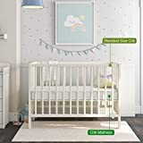 Dourxi Crib Mattress, 2-Stage Dual Sided Toddler