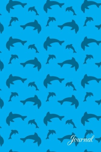 Journal: Sky blue dolphin notebook