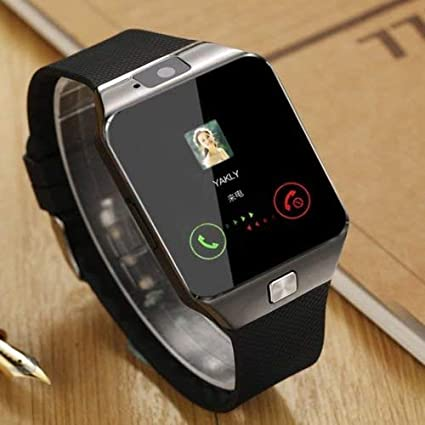 best_sales_for_you Bluetooth Smart Watch w/Camera Waterproof Phone Mate for Android Phones - Black Color