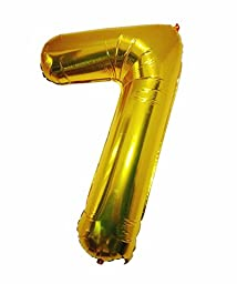 2017 Graduation Decorations by GOER,32 Inch Gold 2017 Number Foil balloons,Festival Party Supply \