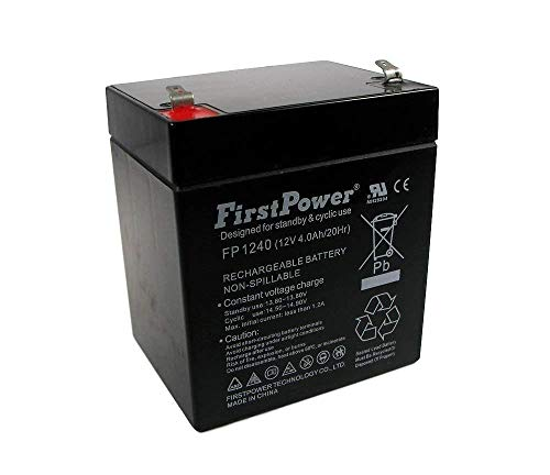 FirstPower 12V 4AH for GE Security Alarm CADDX NETWORX -