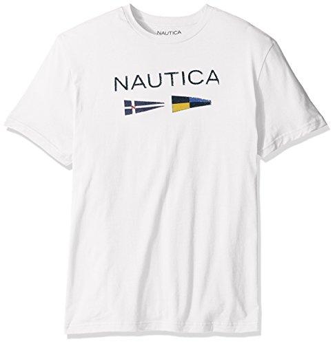 Nautica Mens Short Sleeve Graphic T Shirt