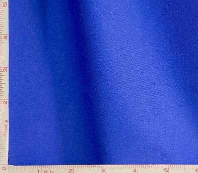 Royal Blue Interlock 1 Mil Coated PUL Polyurethane Laminate Fabric Polyester 58-60