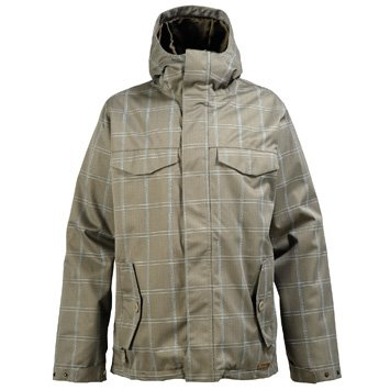 - Burton Men Entourage Jacket Haze IG Molin Small