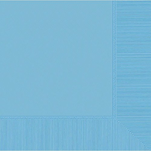 Powder Blue 2-Ply Luncheon Napkins | Pack of 50 | Party Supply ()