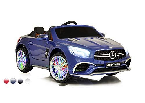 Dollys Shop Ride On Toys - Electric 12V Mercedes Benz Car for Kids - 12V Battery Remote Control Car - Ride On Car for Kids - MP3 LED Wheels MP4 - Sl65 Benz Amg Mercedes