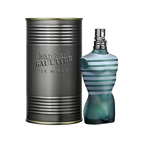 Le Male by Jean Paul Gaultier for Men - 2.5 Ounce EDT Spray (World's Best Perfume For Male)