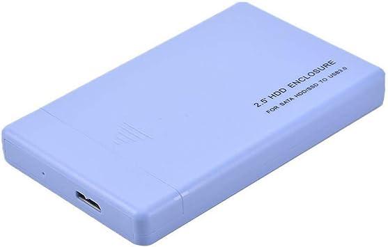 2.5 HDD Recinto por SATA HDD/SSD a USB 3.0, Impacto Resistencia ...