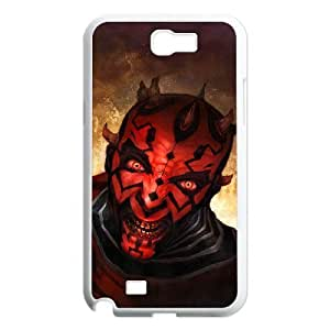 C-EUR Diy Phone Case Star Wars Pattern Hard For Case Samsung Galaxy Note 2 N7100 Cover