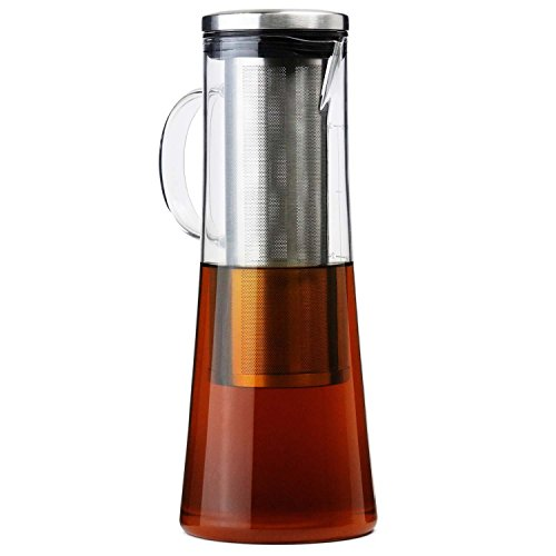 iced tea maker glass pitcher - 8
