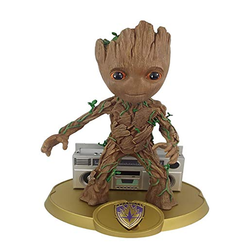 Best Quality - Action & Toy Figures - 26cm Guardians of The Galaxy Tree Man with Radio PVC Action Figure Model Toys Doll - by ORSTAR - 1 PCs