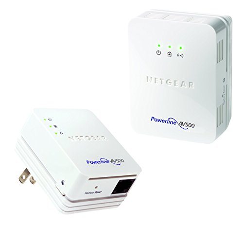 (NETGEAR Powerline 500 + N300 WiFi and 1 Port Starter Kit (XWNB5201))
