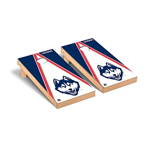 Connecticut Uconn Huskies Tailgate - Victory Tailgate Connecticut UCONN Huskies Regulation Cornhole Game Set Triangle Version