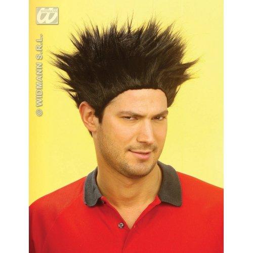 Adult's Black Spiky Wig -