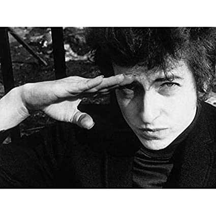 I Took Stunning Photo Of Dylan At >> Amazon Com Vintage Music Photography Folk Legend Bob Dylan Salute
