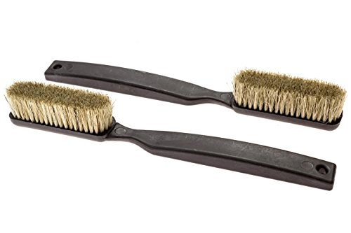 Climbing & Bouldering Brush - 2 Pack | Thick Boar's Hair Bristles, Ultra Durable, Perfect Climbing Brushes for All Holds & Chalk Types, Indoor or Outdoor by Dyno Climbing