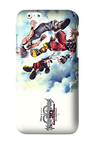 Kingdom Hearts 3D: Dream Drop Distance Game Snap on Plastic Case Cover Compatible with Apple iPhone 6 and 6s (Kingdom Hearts 3d Dream Drop Distance Opening)