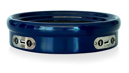 Porta Objeto com USB Lusbe, Azul Royal