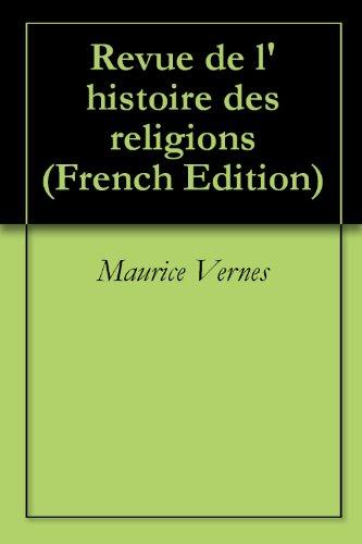 Revue de l'histoire des religions (French Edition)