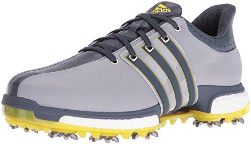adidas Men's Tour 360 Boost Golf Shoe LIGHT ONIX GREY, 13 M US