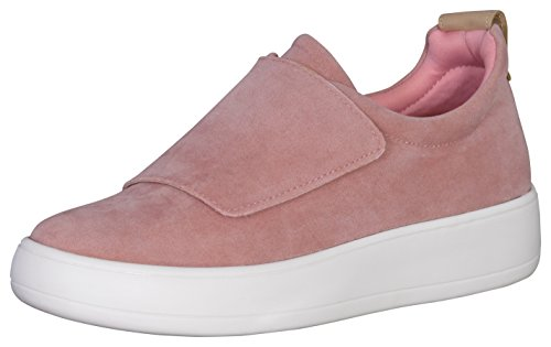 Glans Damesriem Laag Top Mode Sneaker Mauve