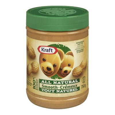 Kraft All Natural Smooth Peanut Butter 750g from Canada (Butter Smooth Kraft Peanut)