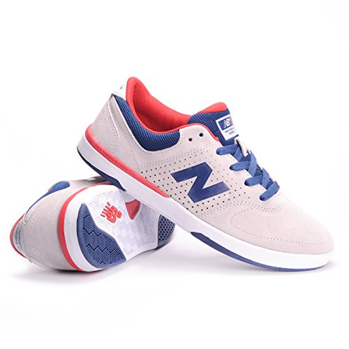 f0574272d5e5 New Balance Numeric PJ Stratford 533 Shoes - Grey Red UK 11  Amazon.co.uk   Shoes   Bags