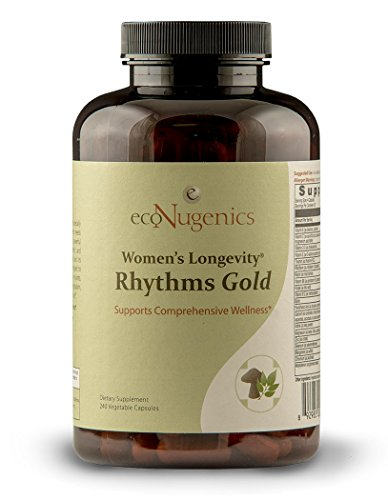 n's Longevity Rhythms Gold – 240 Capsules | Provides Unparalleled Nutritional Support for Menopausal & Post-Menopausal Women | Natural, Safe & Effective (Menopausal Women)