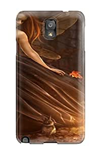 Hot Tpye Autumn Fairy Forest Fantasy Animals Abstract Fantasy Case Cover For Galaxy Note 3