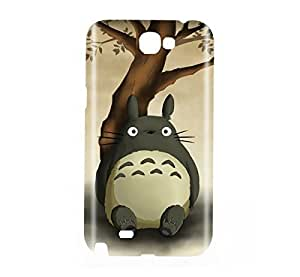 My Neighbor Totoro Tonari no Totoro Snap on Plastic Case Cover Compatible with Samsung Galaxy Note II 2