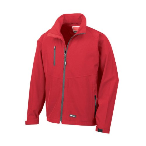 Result Mens 2 Layer Base Softshell Breathable Wind Resistant Jacket