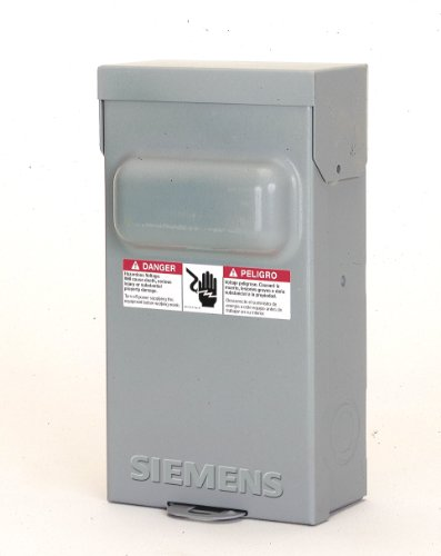 Siemens WF2030 30 Amp Fusible AC Disconnect (Disconnect Box)