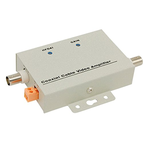 BNC Coaxial CCTV Video Balun Amplifier for CCTV ()