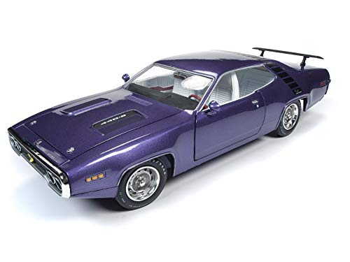 1971 Plymouth Road Runner 440+6 in Violet Looney Tunes Muscle Car & Corvette Nationals (MCACN) Ltd Ed 1,002 pcs 1/18 Diecast Car by Autoworld AMM1182 from Plymouth