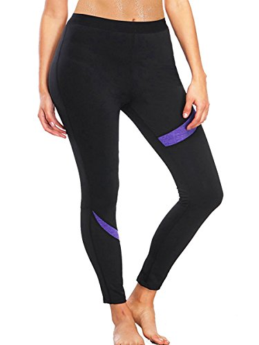 In Neoprene Nero Shapers pantaloni Thermo Hot Sauna Snellente Da Tuta Sexywg Body T41pqwg